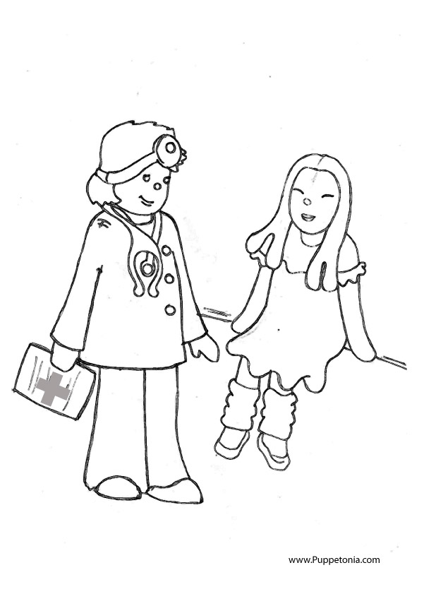 puppetonia news - Dr Who Coloring Pages